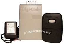 Digi Code Universal Radio Control Kit with 1 Remote model 5102-1